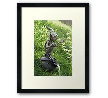 Cauldron Fountain Framed Print