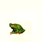 frog-with background by Liesl Yvette Wilson