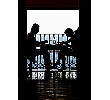 Luncheon Silhouette Photographic Print
