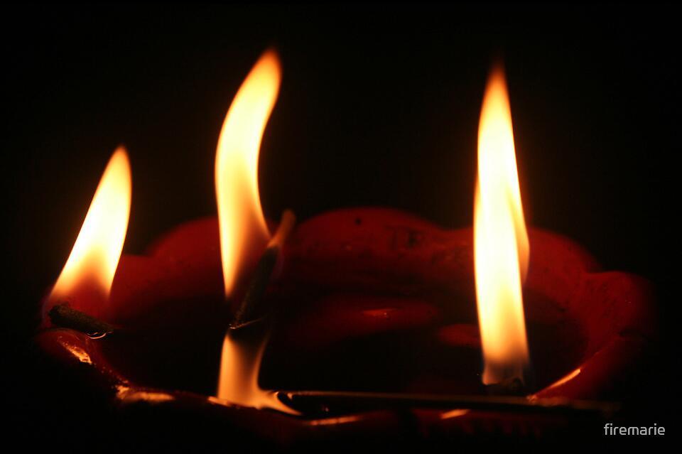 Flames by Marie Arneklev