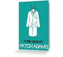 Patch Adams Greeting Card