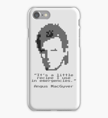 8-Bit MacGyver iPhone Case/Skin