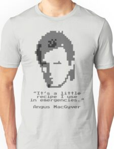 8-Bit MacGyver Unisex T-Shirt