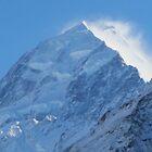 Mount Cook's peak - New Zealand by Nicola Barnard