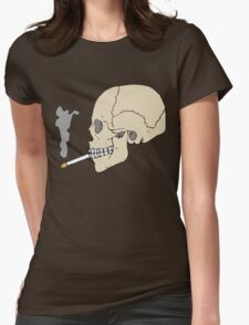 Cool is the death... Womens Fitted T-Shirt