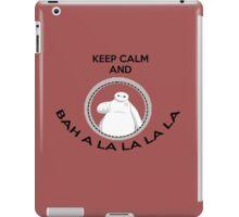 Keep calm and bah a la la la la iPad Case/Skin