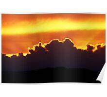 Backlight Sky Poster