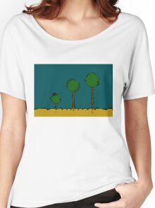 Three Trees Women's Relaxed Fit T-Shirt