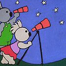 Elliott & Anastacia look at the Stars by Clara Batton Smith