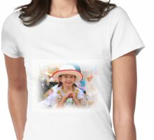Cuenca Kids 585 Womens Fitted T-Shirt