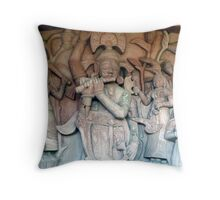 Krishna in Jodhpur Throw Pillow