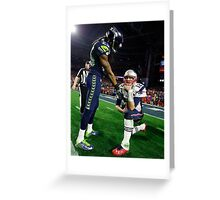 Tom Brady : The Thinker Greeting Card