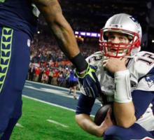 Tom Brady : The Thinker Sticker
