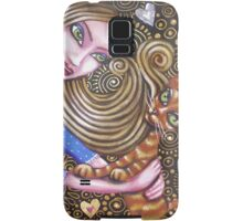 Playing with my Heart Samsung Galaxy Case/Skin