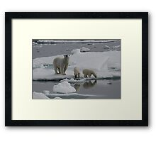 You Looking At Me! Framed Print