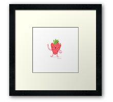 Strawberry fun Framed Print