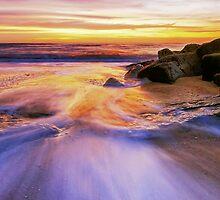 Southwold Beach Suffolk 14. by Wayne Bradshaw
