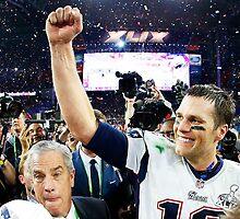 Tom Brady : The Champion by RajEscobar