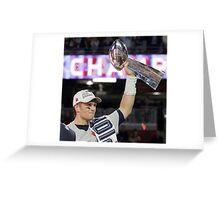 Tom Brady : The evolution Greeting Card