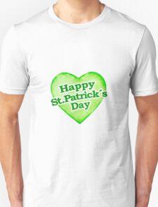 Unique Happy St. Patrick´s Day Design Unisex T-Shirt