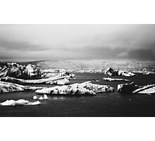 Icebergs Photographic Print