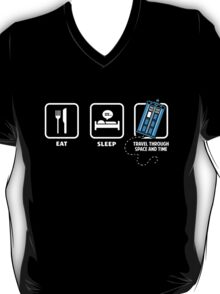 Eat, Sleep, Who T-Shirt