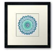 Deep Forest Flower Framed Print