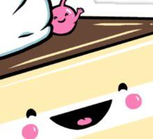 """Eat Me"" - Kawaii Alice in Wonderland Cake Sticker"