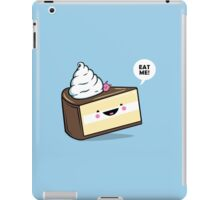 """Eat Me"" - Kawaii Alice in Wonderland Cake iPad Case/Skin"