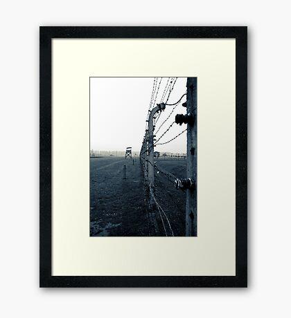 Birkenau Framed Print