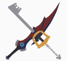 Kingdom Key X Soul Eater Kids Clothes