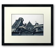 On a happier note Framed Print