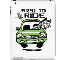 Bred To Ride iPad Case/Skin