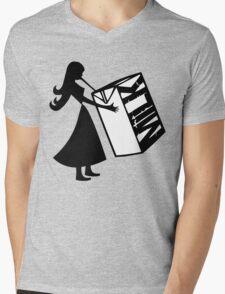 Milk... Mens V-Neck T-Shirt