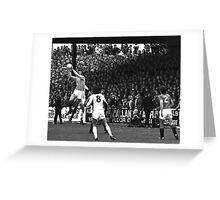Retro Soccer 9 - 'The Girvan Lighthouse' Greeting Card