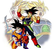 Bardock&Goku by Cooltime