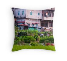 Urban Cultivation  Throw Pillow