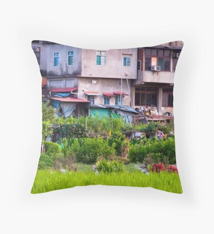 Urban Cultivation  Throw Pillow