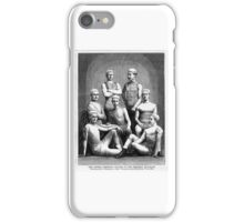 Cornell Rowing -  1875 Freshmen Winners of Boat Race Harper's Weekly iPhone Case/Skin