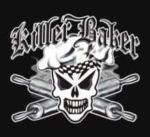 Baker Skull 2: Killer Baker and Crossed Rolling Pins by sdesiata