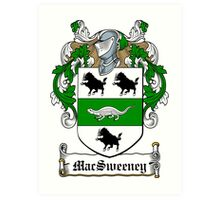 MacSweeney (Donegal) Art Print