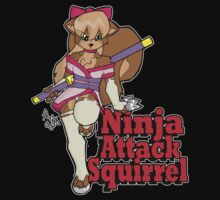 Ninja Attack Squirrel 2 (dark) by TehBurningDonut