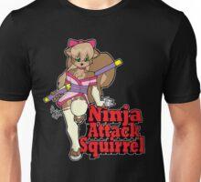 Ninja Attack Squirrel 2 (dark) Unisex T-Shirt