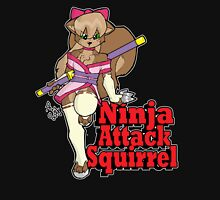 Ninja Attack Squirrel 2 (dark) T-Shirt