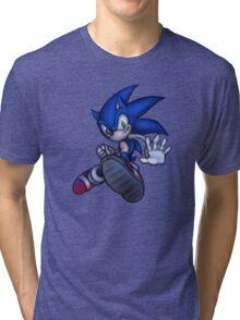 Sonic the Hedgehog (01) Tri-blend T-Shirt