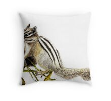 The Chimpmunk Throw Pillow