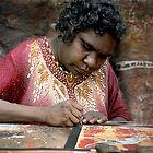 Aboriginal Artist by JimFilmer