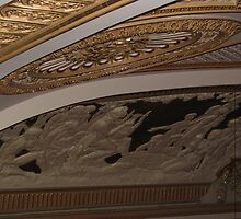 Decorative pano on the ceiling in Royal opera house by Larasolnishko