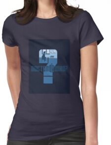 Dr Who? Womens Fitted T-Shirt