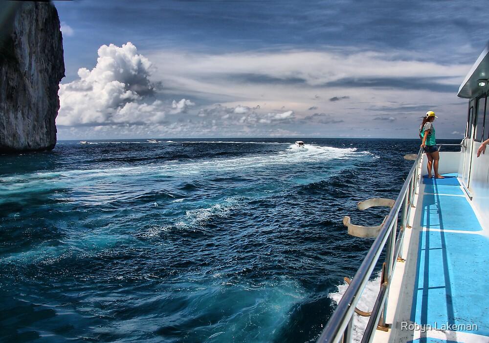 Leaving Monkey Island by Robyn Lakeman